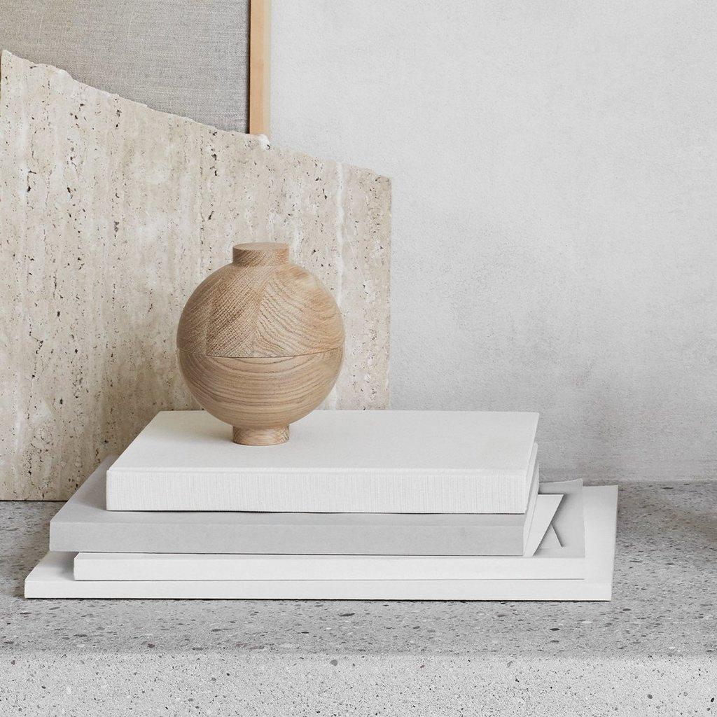Kristina Dam Wooden Sphere - Solid Oak