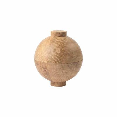 Kristina Dam Wooden Sphere XL  - Solid Oak