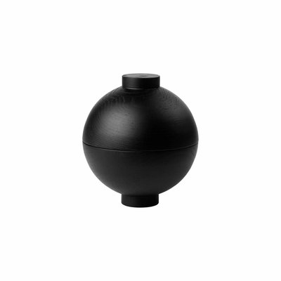 Kristina Dam Wooden Sphere XL  - Black