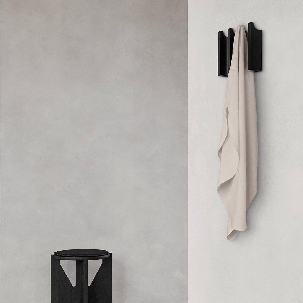 Kristina Dam Column Coat Rack - Black