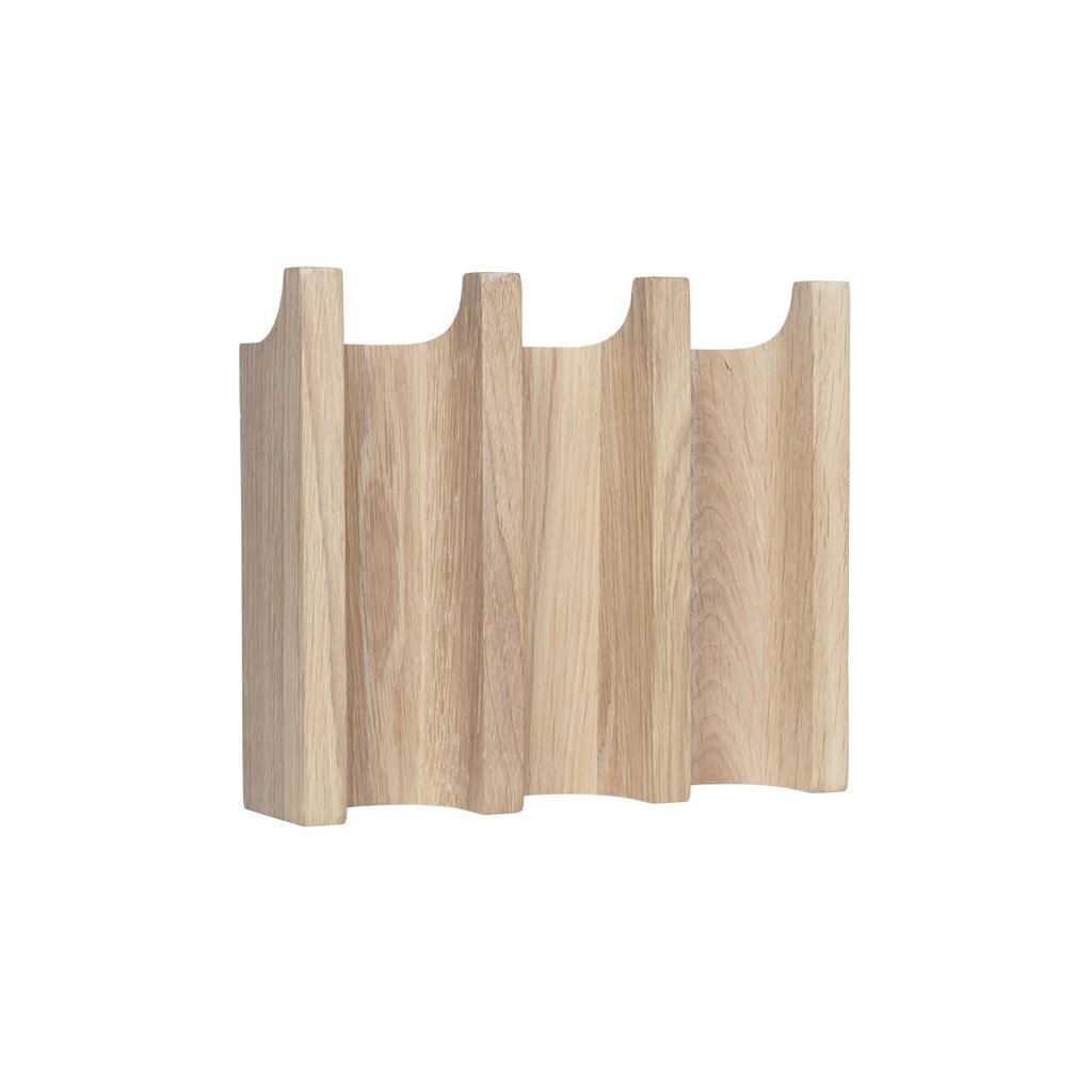 Kristina Dam  Column Coat Rack - Solid Oak