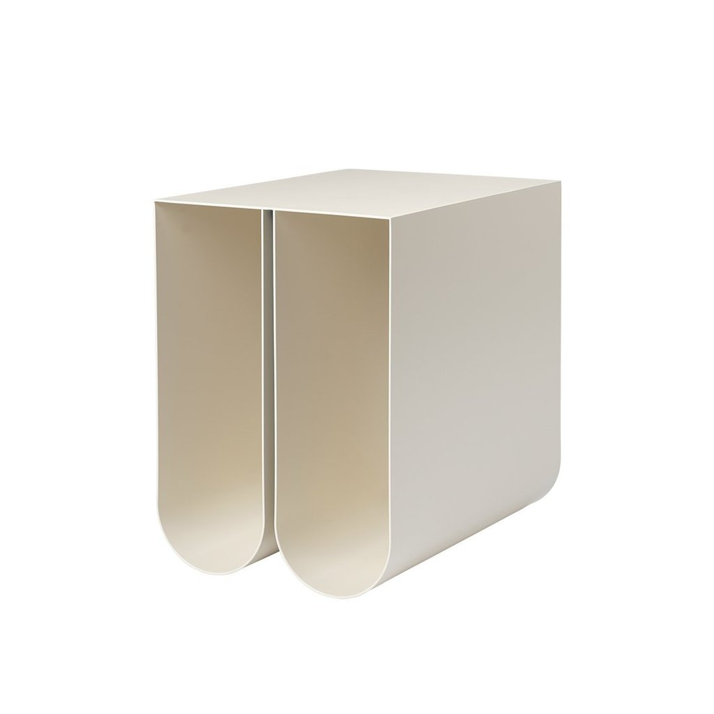 Kristina Dam  Curved Side Table - Beige