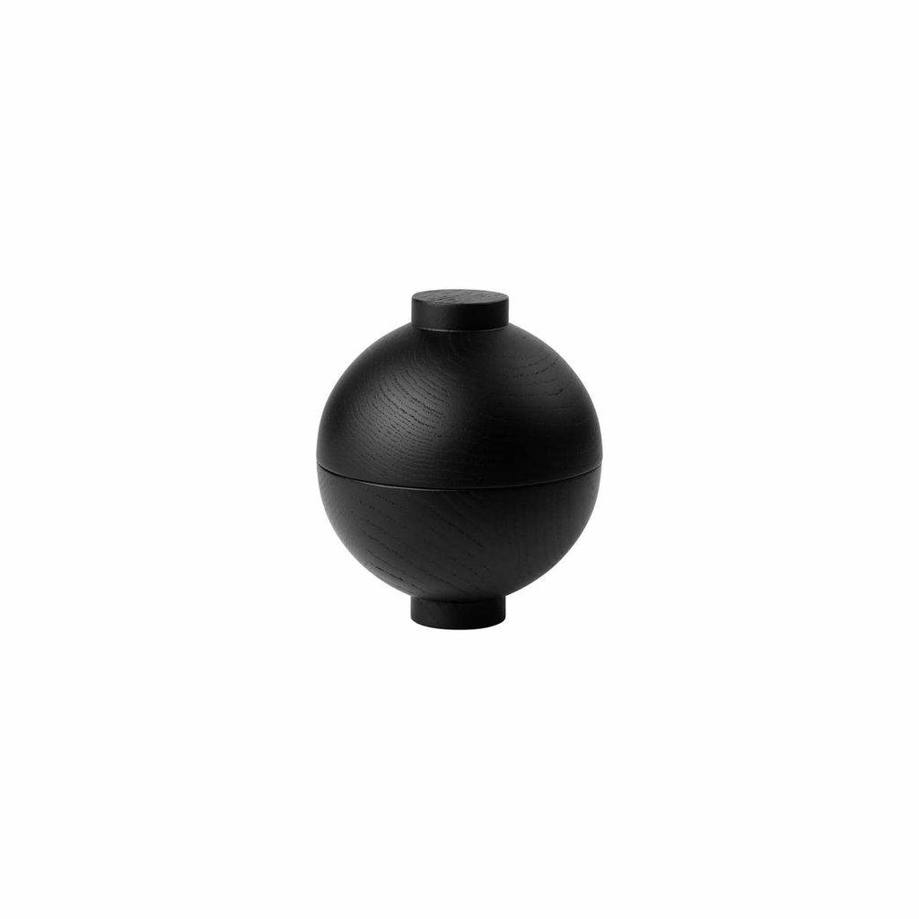 Kristina Dam Wooden Sphere - Black
