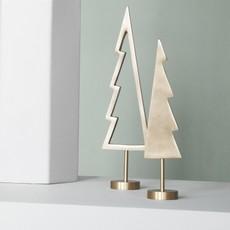 Ferm Living Winterland Brass Tree - Outline