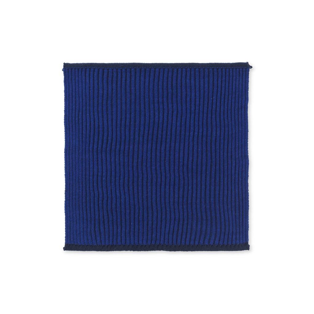 Ferm Living Twofold Organic Cloth - Set of 2 (Dblue)