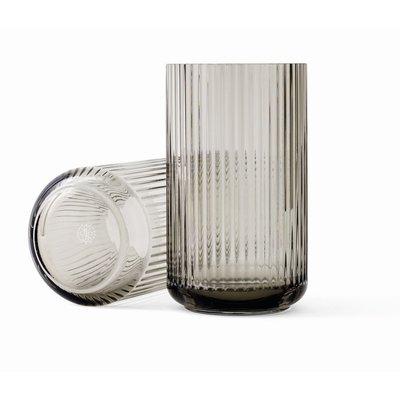 Lyngby Porcelæn Lyngbyvase H20,5 smoke mouth blown glass