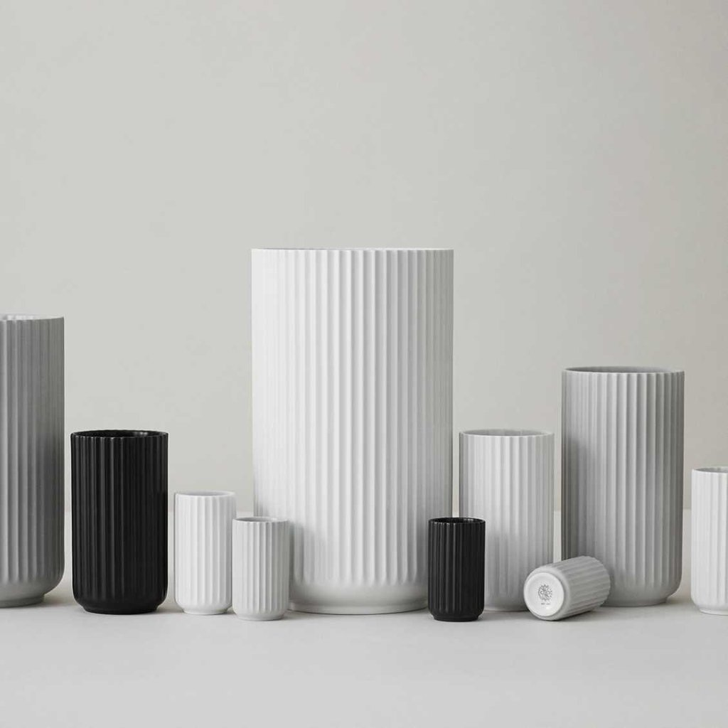 Lyngby Porcelæn Lyngbyvase H25 white porcelain