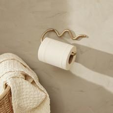 Ferm Living Curvature Toilet Paper Holder - Brass