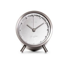 LEFF amsterdam Tube clock | steel | replaced by alarm version