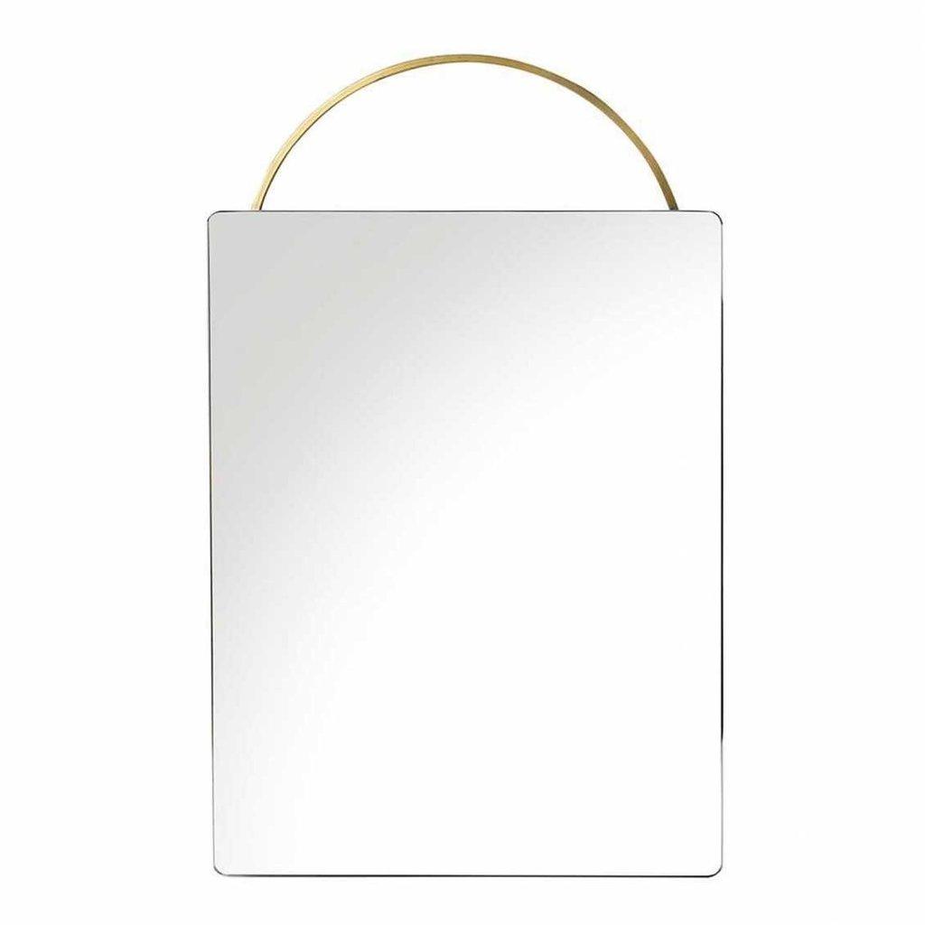 Ferm Living Adorn Mirror - Face - Brass