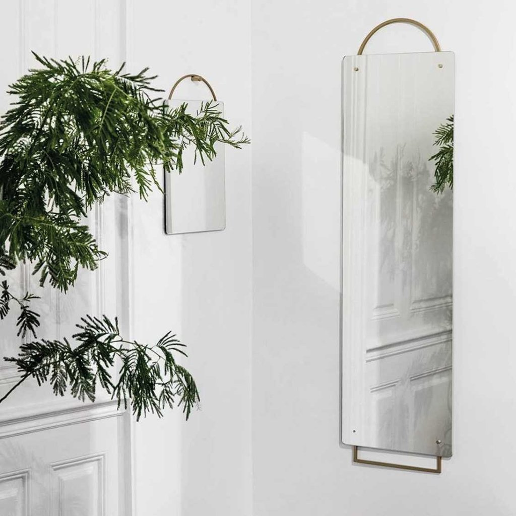 Ferm Living Adorn Mirror - Full Size - Brass