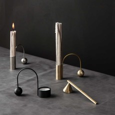 Ferm Living Balance Candle Holder - Brass