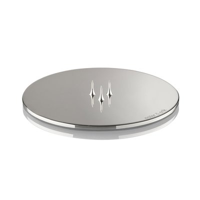Ester & Erik Candle Plate - SHINY SILVER