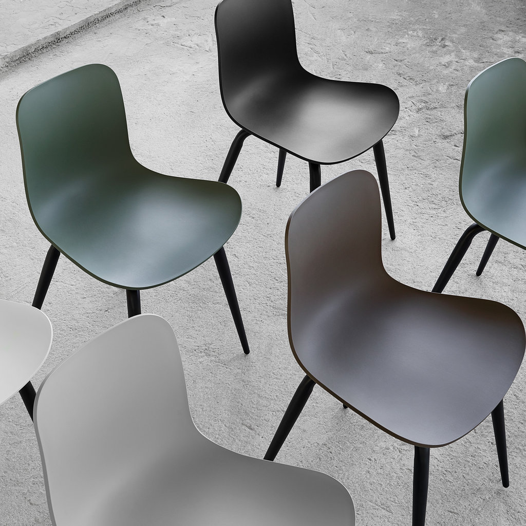 Norr11 Langue Avantgarde Dining Chair - Army Green