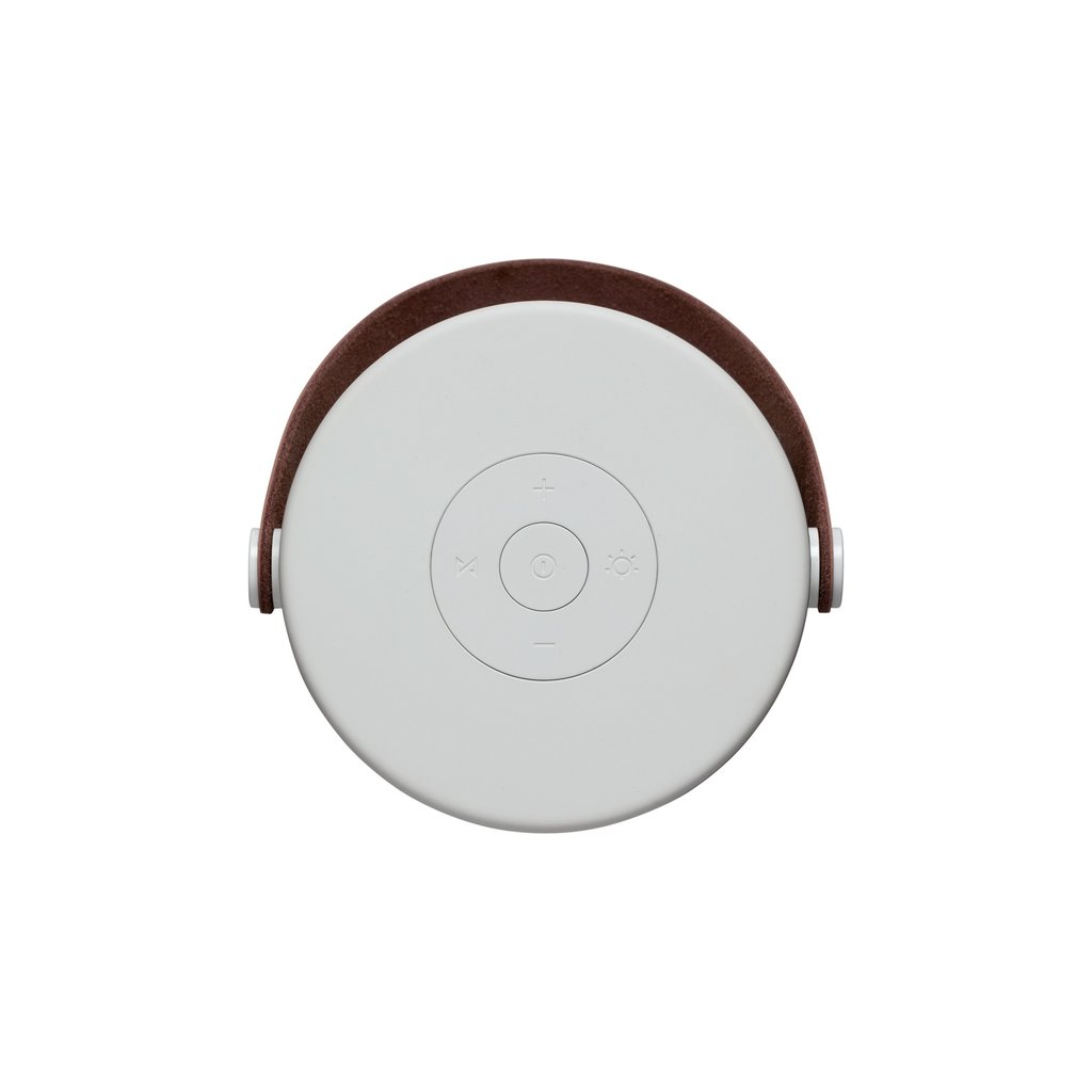 Kreafunk aGLOW, white w. rose gold grill