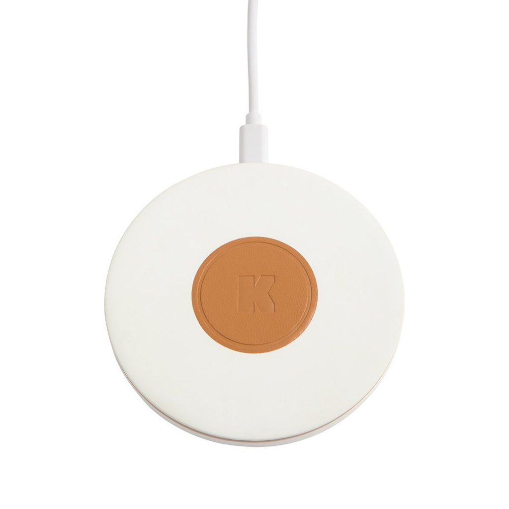 Kreafunk wiCHARGE, white, wireless charger