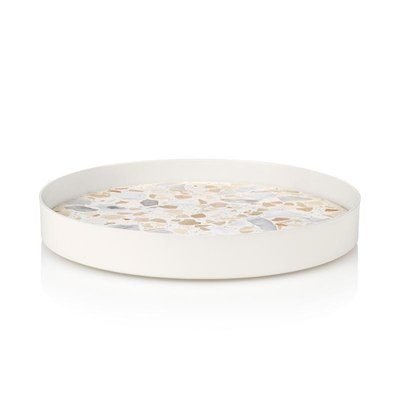 Lucie  Kaas Tray pink terrazzo, Ø24,5