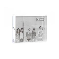 XLBoom Acrylic Magnetic Frame 10x15 Clear