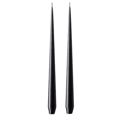 Ester & Erik Candles 32cm - BLACK 75 - 2 stuks