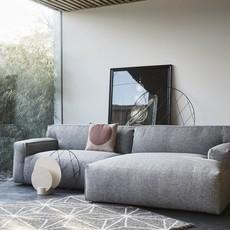 Fest Amsterdam Modulaire sofa Clay - 1,5 zit arm L - 1,5 zit large arm R -Cube 166