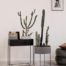 Ferm Living Plant Box Round - Warm Grey