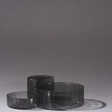 AYTM CONCHA bowls, set/3 Black