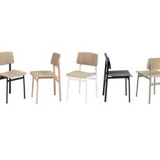 Muuto Loft Chair - Dusty Rose/Oak