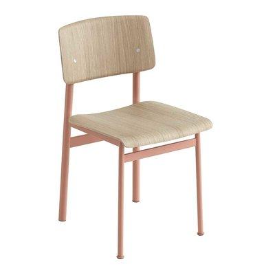 Muuto Loft Chair - Dusty Rose/Oak - SHOWROOM MODEL - 1 AVAILABLE