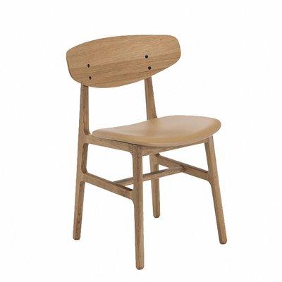 Houe SIKO Chair oil-treated oak veneer & leather seat