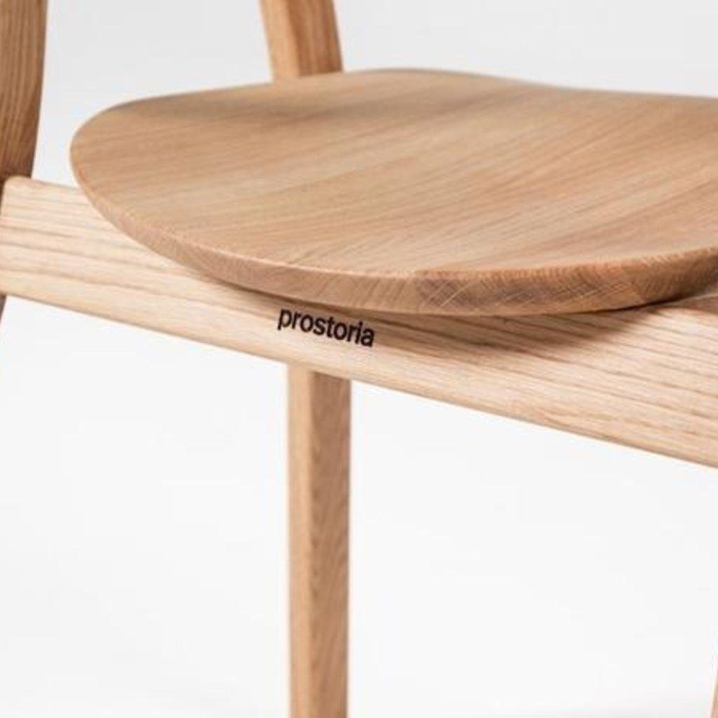 prostoria RHOMB chair OAK nature LACQUER