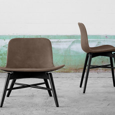 Norr11 Langue Original Dining Chair - Vintage Leather