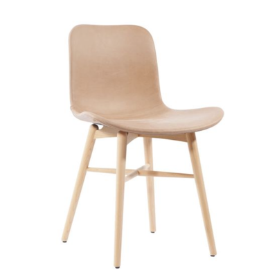 Norr11 Langue Original Dining Chair - Vintage Leather