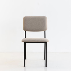 STUDIO HENK Stoel Co Chair zonder armleuning - zwart - calvados kiezel7