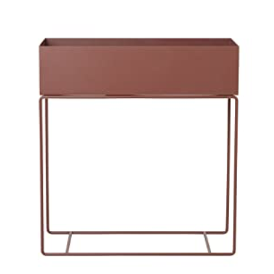 Ferm Living Plant Box - Red Brown