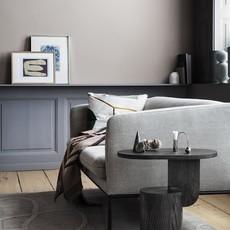 Ferm Living Turn Sofa 2-Seater - Cotton Linen - Natural