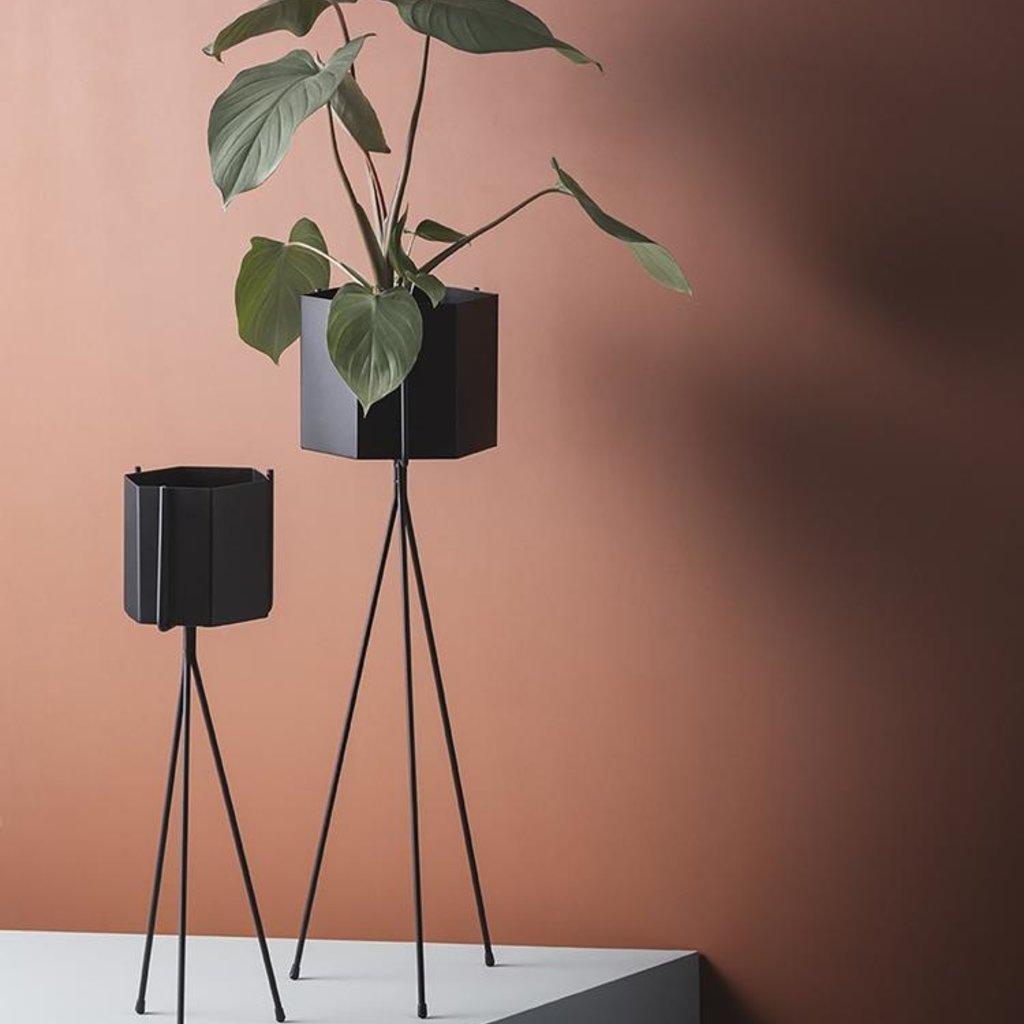 Ferm Living Plant Stand - Black - Low
