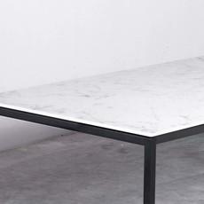 Unit14 Felix eettafel keramiek Carrara 180 x 90