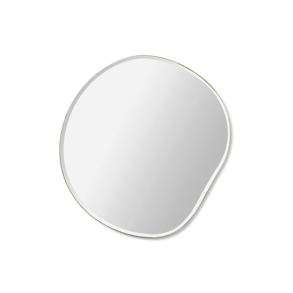 Ferm Living Pond Mirror - Small - Brass
