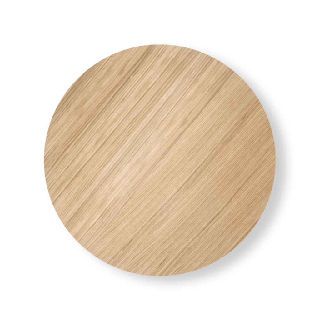 Ferm Living Wire Basket Top - Oiled Oak - Medium