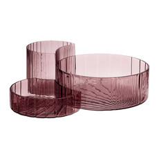AYTM CONCHA bowls, set/3 Rose