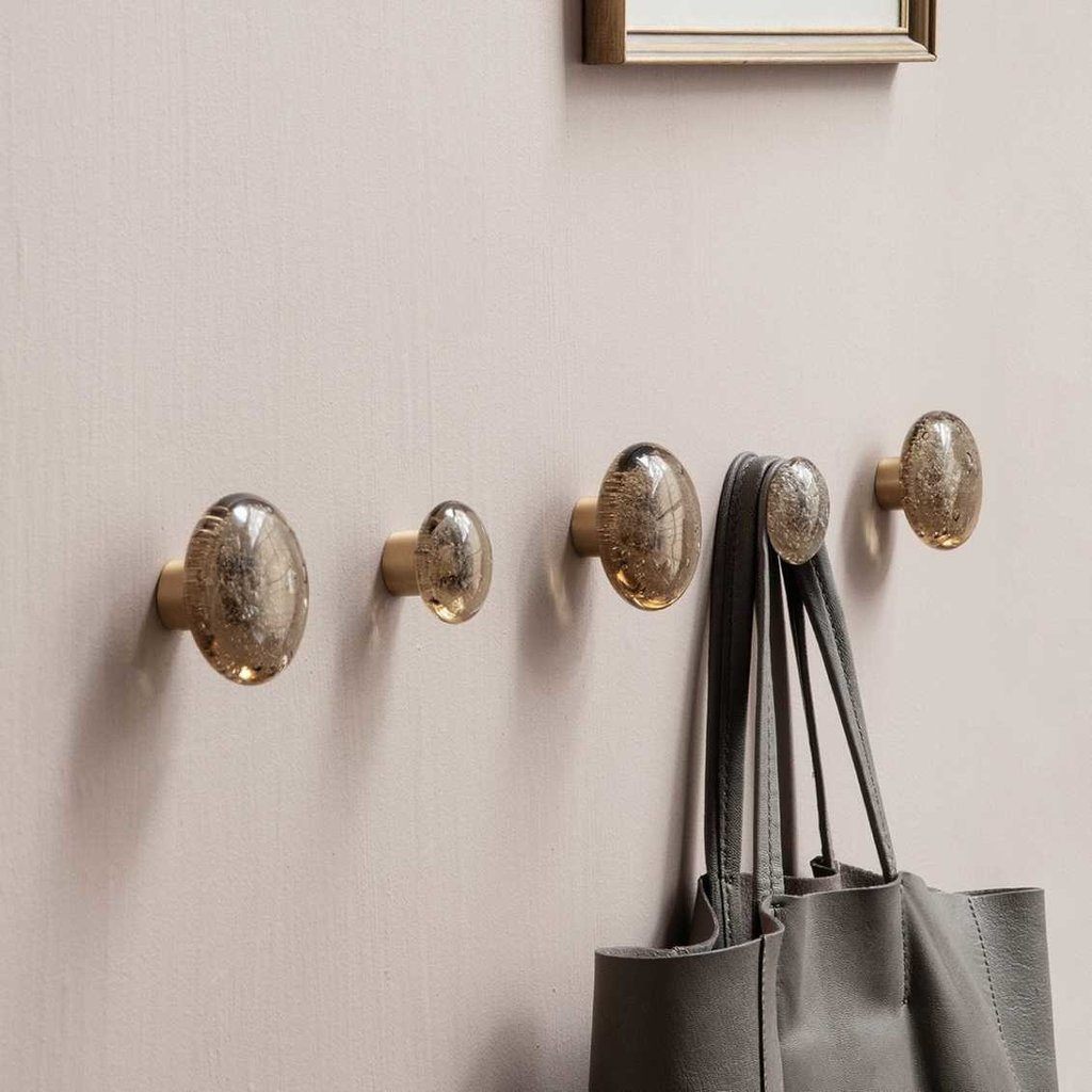 Ferm Living Hook - Bubble Glass - Large - Smoked
