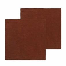 Ferm Living Linen Napkins - Set of 2 - Cinnamon