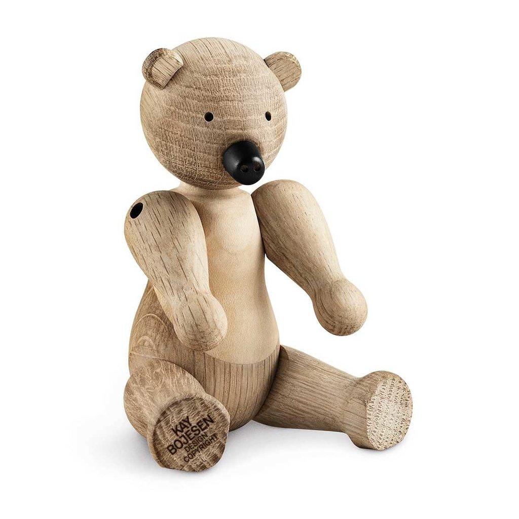 Kay Bojesen Bear small oak/maple