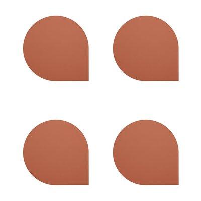 AYTM STILLA Coaster - set of 4 - Ginger Bread