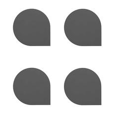 AYTM STILLA Coaster - set of 4 - Black