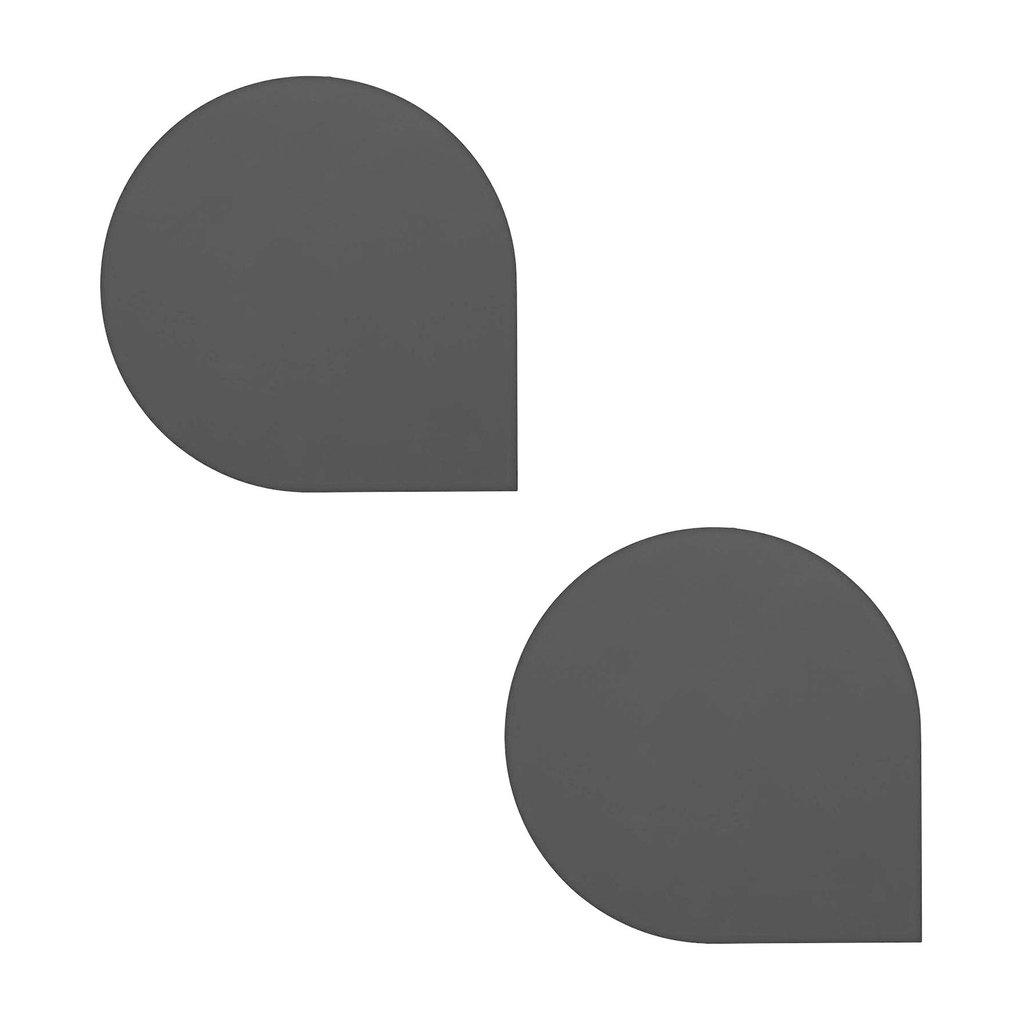 AYTM STILLA Placemat - set of 2 - Black