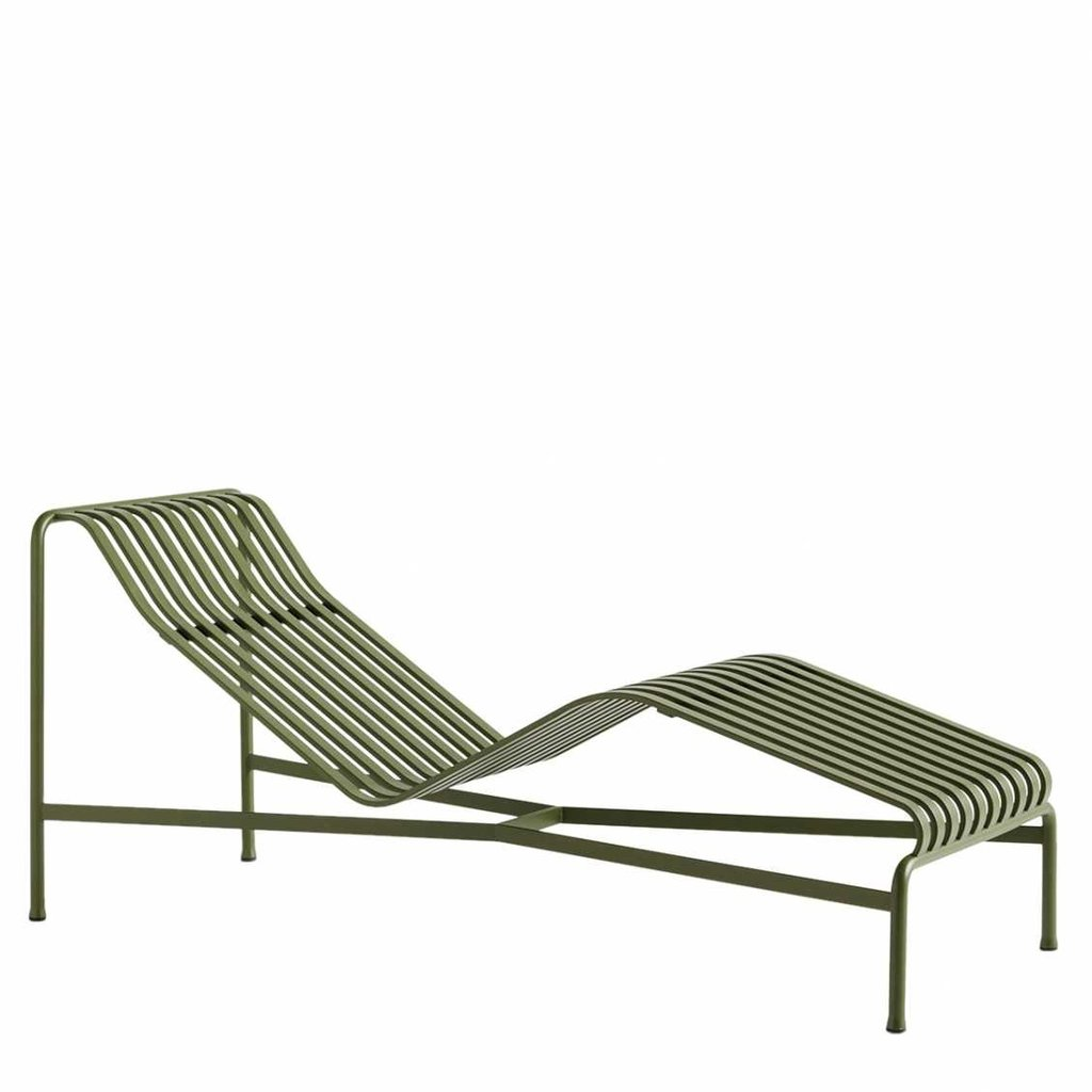 HAY Palissade Chaise Longue Olive