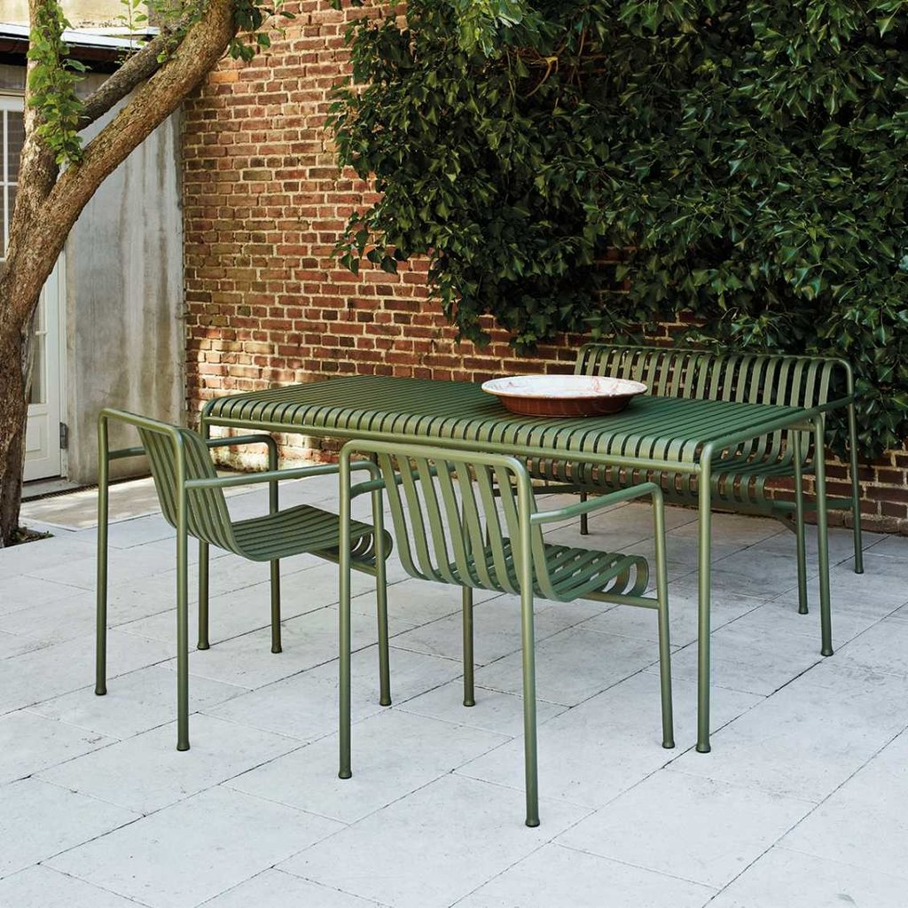 HAY Palissade Table L170 x W90 x H75 Anthracite