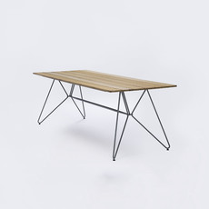 Houe SKETCH Table 220 x 88 - Table Top in Bamboo + Grey