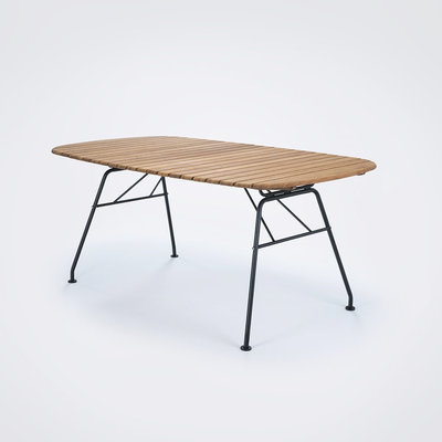 Houe BEAM Table 180 x 95 - Table Top in Bamboo + Black